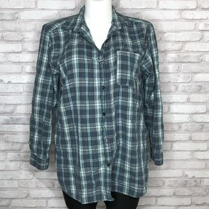 The North Face flannel button up
